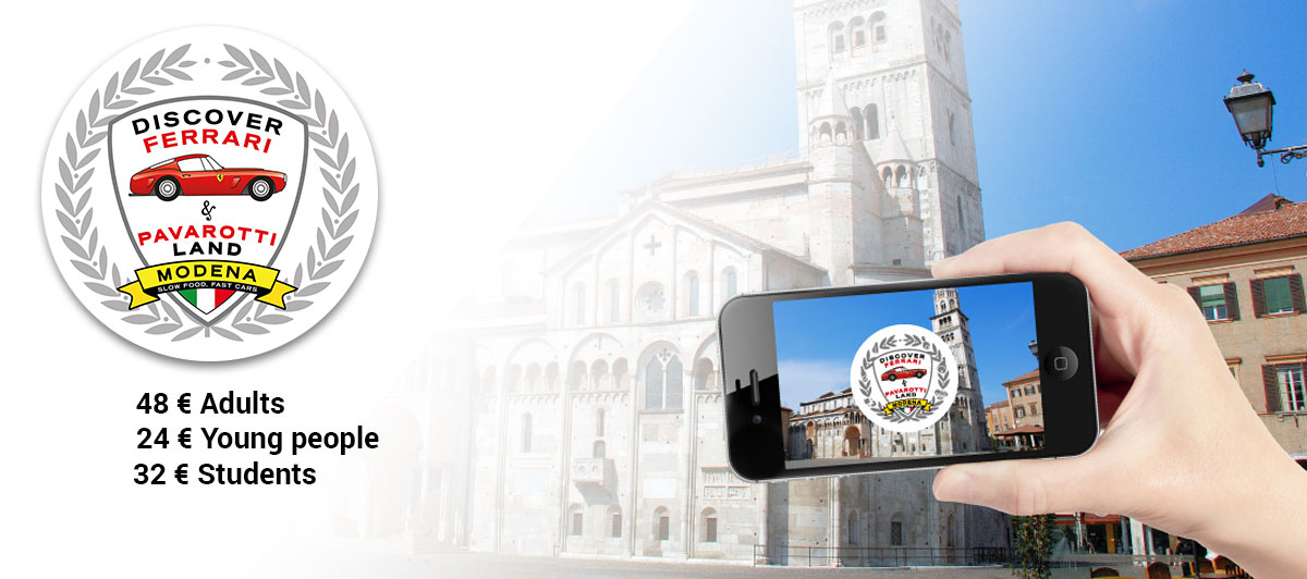 A tour to discover the magic of the Modena area with our shuttles or with your own transport.