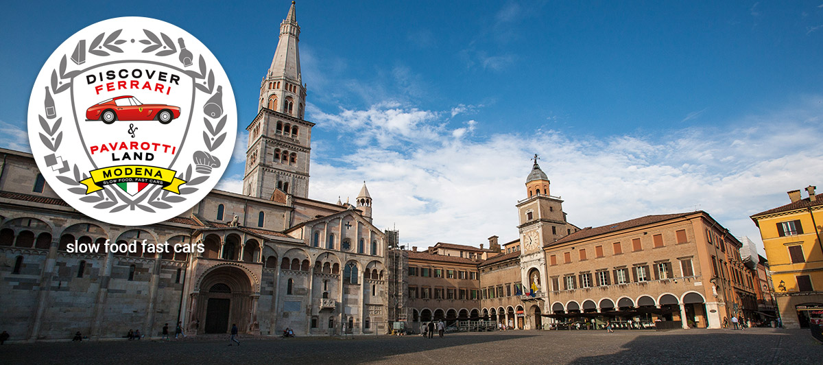 A programme of discovery of the thousand delights of Modena and the surrounding area.<br>With our comfortable shuttle buses or using your own transport.