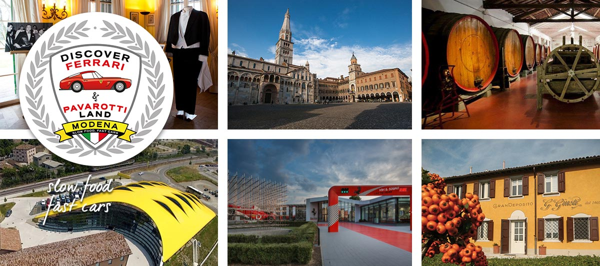 Exclusive benefits on the purchase of the package Discover Ferrari Pavarotti & Land for customers Extra Sky